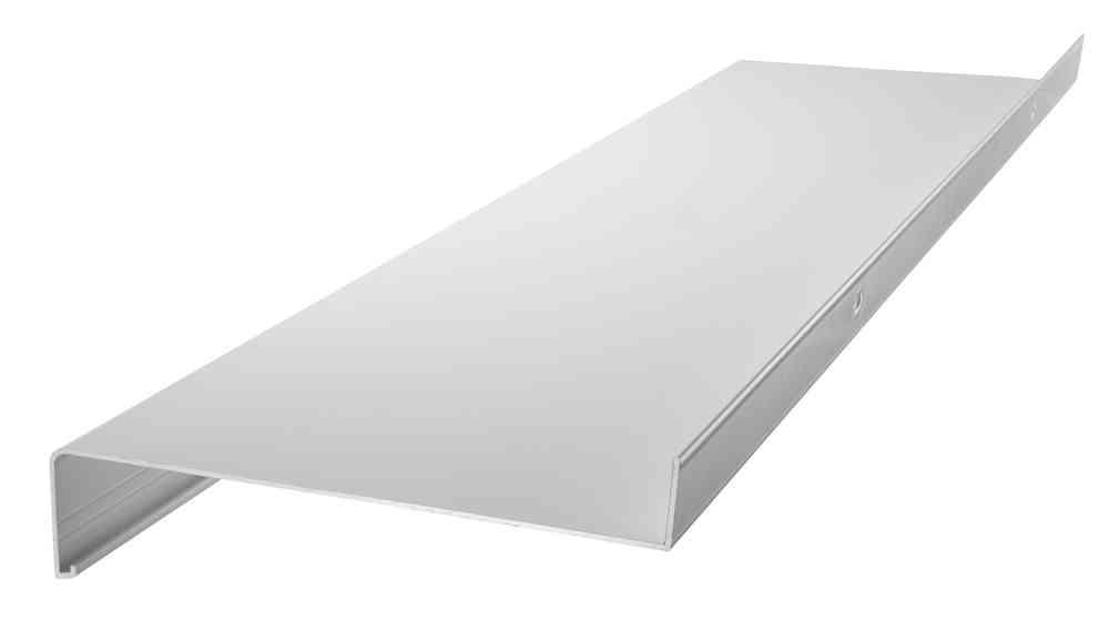 Alu-Fensterbank Weiß RAL 9016